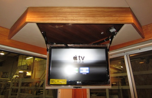 Television & cabinet