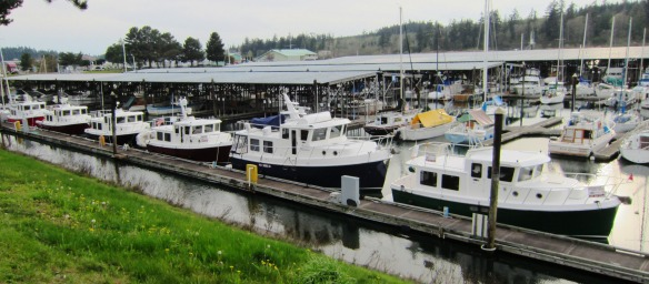 American Tug display moorage