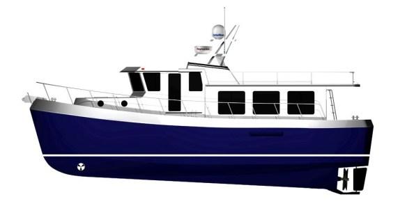 The new American Tug 485
