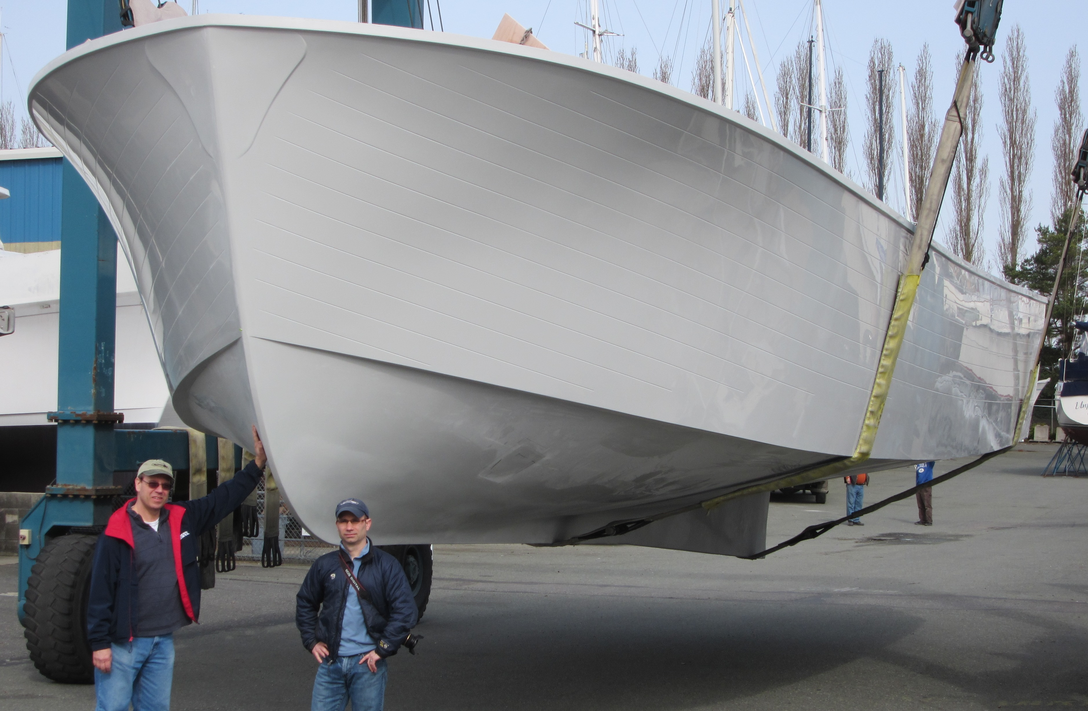 Tomco delivers a 49 foot commercial boat american tugs for Commercial fishing boats for sale west coast