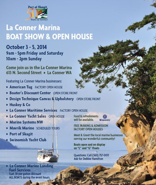 LaConner Port boat show 2014