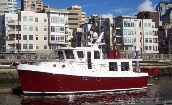 See the 2005 American Tug 41 Justatug at the show