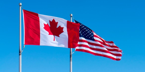 o-CANADA-UNITED-STATES-FLAGS